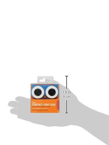 Kontaktlinsenbehälter Eule - Farblich sortiert