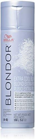 Wella Blondor Extra Cool Blonde Hair Dye, 5.2 Ounce