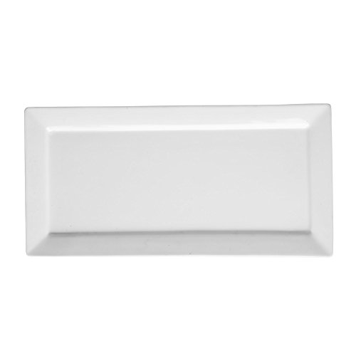 Price et Kensington Simplicity Plat Rectangulaire, Porcelaine, Blanc, Lot DE 71, 35 cm