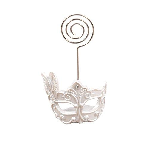 enhalter Maske Unter Dem Motto Tischkarteninhaber Reservierter Kartenhalter für Restaurants, Hochzeiten, Bankette ()