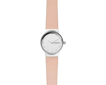 Skagen Womens Analogue Quartz Watch with Leather Strap SKW2770