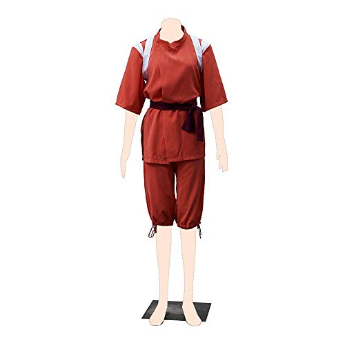 Dream2Reality Spirited Away Cosplay Kostuem Chihiro Ogino Cloth X-Small (Weibliche Videospiel Kostüm)