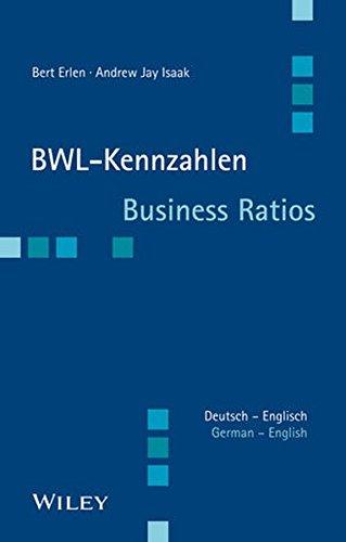 BWL-Kennzahlen Deutsch - Englisch: Business Ratios German/English