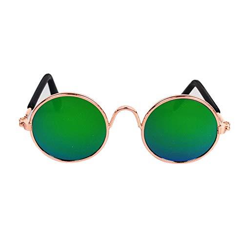 ddellk Pet Sonnenbrillen - Mode Mini-Hundekatze Augenschutzbrille Super süße Trend Haustiersonnenbrille