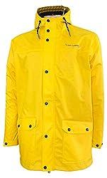 MADSea Herren Regenjacke Friesennerz Gelb, Farbe:gelb, Größe:XXL