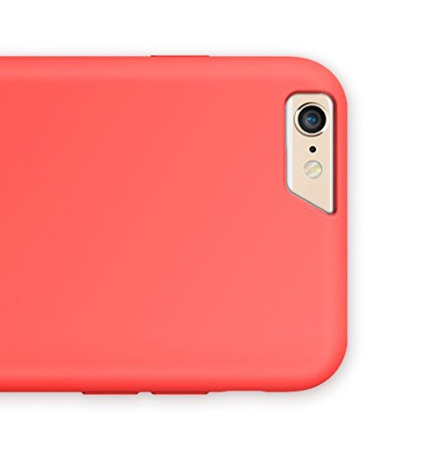 "Vapiao ""Summer Edition"" Case Hard Back Cover Schutzhülle für iPhone 6, 6s - Lachs Hellblau"