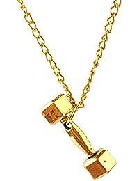 DIOOR Joyería para Mujer Regalos para Mujer Niñas Cristal Plata Oro Colgante Collar Plata Oro Negro
