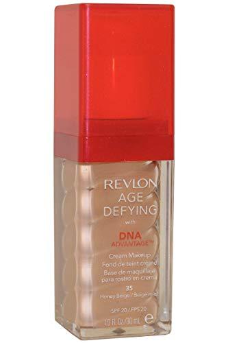 Revlon Age Defying Cream Makeup With DNA Advantage - 35 Honey Beige (fond de teint)