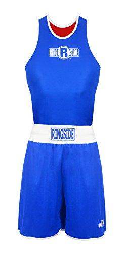Ringside Wettkampf-Outfit wendbar, Unisex-Erwachsene Herren, Small