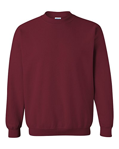 Gildan Men's Heavy Blend Crewneck Sweatshirt - XXXX-Large - Garnet -