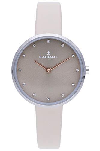 Radiant angelina orologio Donna Analogico al Al quarzo con cinturino in Pelle di vitello RA491602