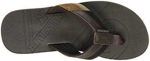 Quiksilver Herren Hiatus Zehentrenner Braun (Brown/Black/Brown)
