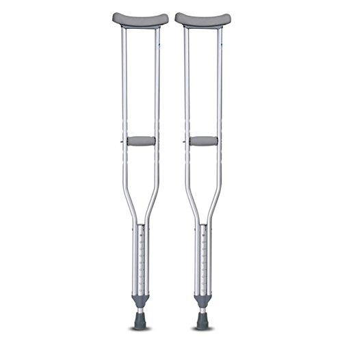 chsel KrüCken Paar Verstellbar Gehstock Antirutsch Cane (Bein Stütze Kostüm)
