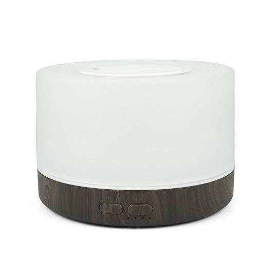 HDFIER luftbefeuchter easehold Luftbefeuchter Oil Düfte Humidifier für Yoga Salon Spa Wohn, Schlaf, Bade Ätherisches Öl Lampe Mini buntes Licht Spray - Bade-Öl Spray