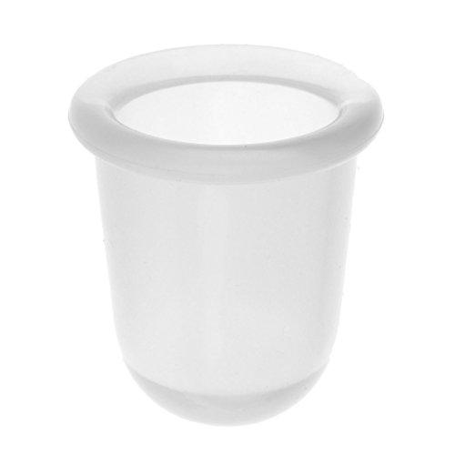 Vakuum-Therapie Silikon Schröpfen Massage Geräte Anticelulitemassage Tasse Cups - Klar, M