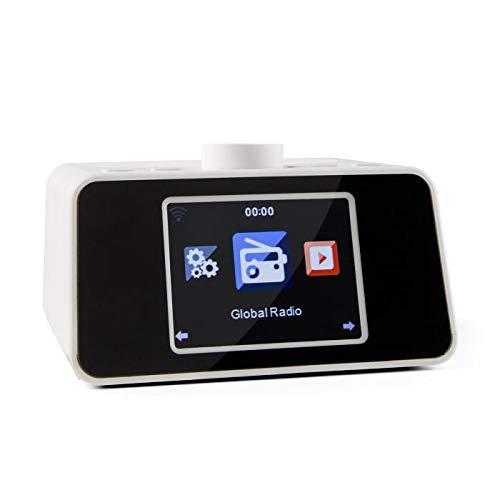 Auna i-Snooze White Edition - Radio Internet WiFi