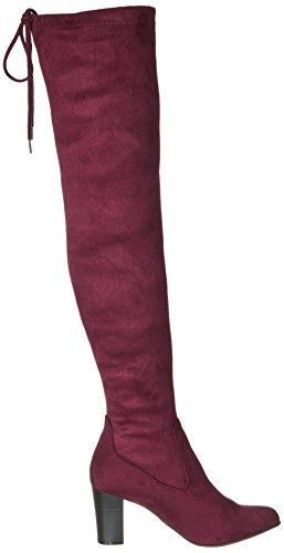 Donna Caprice 25504 Bordeaux Rosso Stre Stivali wwFrpqUE