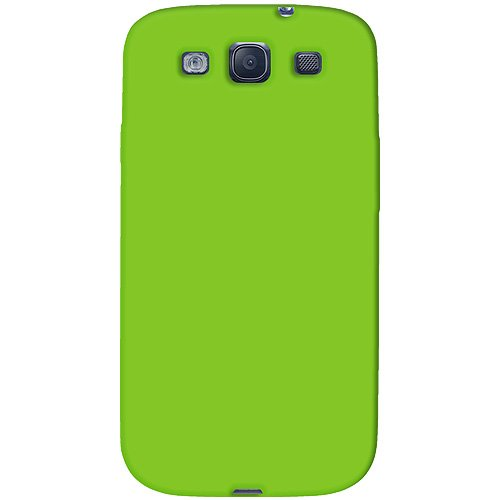 Amzer AMZ93956 Skin Jelly Case for Samsung Galaxy S3 Neo and S III GT-I9300 (Green)  available at amazon for Rs.239