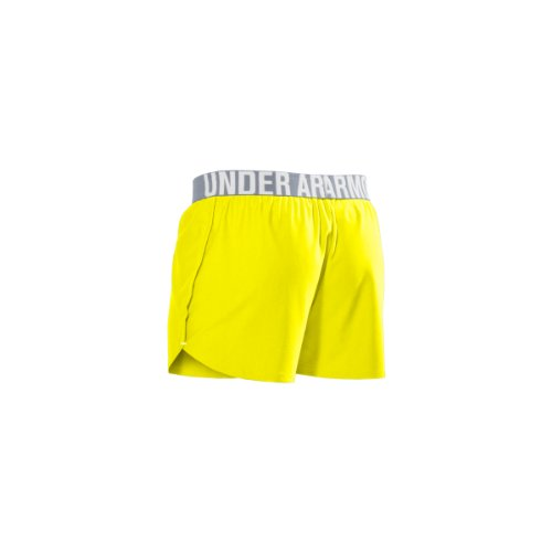 """Under Armour Play Up 3"""" Short multisport femme Blanc - SUNBLEACHED / WHITE"""