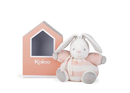 Kaloo K960086 - Bébé Pastel Plüsch Hase 18 cm, pfirsich/creme (Baby Pfirsich Plüsch)