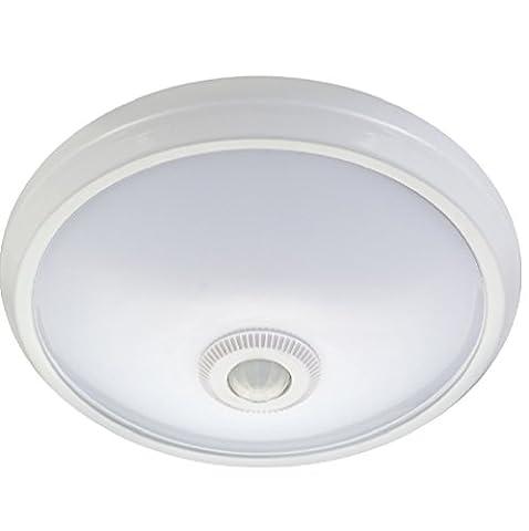 Maclean mce131Plafonnier LED avec détecteur de mouvement