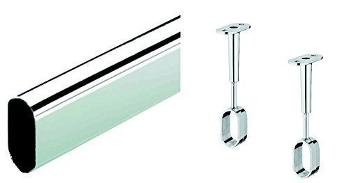 gedotec-furniture-oval-clothes-rail-1500mm-chrome-plated-steel-wardrobe-closet-rod-30x-15mm-with-2x-