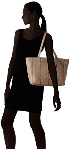 GERRY WEBER - Toledo Shopper Lhz, Borsa a spalla Donna Beige (Taupe)