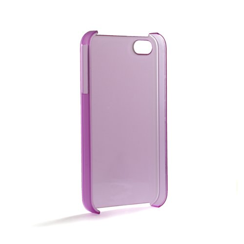 System-s Coque CRYSTAL CASE COVER in Violet pour Apple iPhone 4