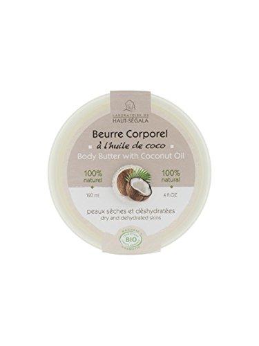 Haut-Ségala Beurre Corporel à l'Huile de Coco 120ml