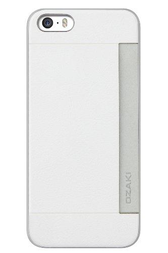 Coque Pour iPhone 6 Ozaki O!Coat 0.3 Pocket Case - Noir Pour iPhone 5 et 5S rouge blanc