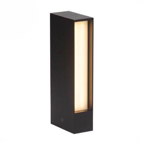 Brilliant, Lampada LED da esterni, 8.0 Watt, 450 lumen - Giardino Post Mount
