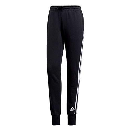 adidas Damen W MH 3S Pants Black/White, S