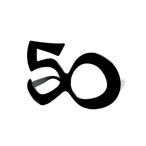 Forum Novelties 68033 - Gafas cumpleaños 50 Unidades
