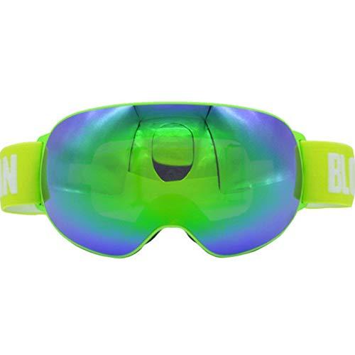 F.RUI Skibrille, ZA-02 Männer und Frauen Skibrillen Snowboardbrille UV400 Schutz und Anti-Beschlage für Wintersportarten Schneemobil Skifahren oder Skaten