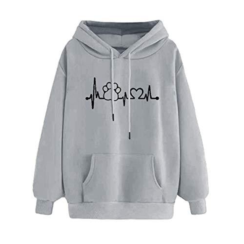 Frauen Herbst Winter Casual Sweatshirt O-Ausschnitt Langarm Hoodie Solid Drucken Slim Fit Kapuzenpullover Bequem Warm Halten Pullover Mode Drawstring Bluse -