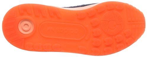 adidas Zx Flux Adv, Scarpe da Corsa Unisex – Adulto, 39 1/3 EU Blu (Mini Blue/Mini Blue/Solar OrangeMini Blue/Mini Blue/Solar Orange)