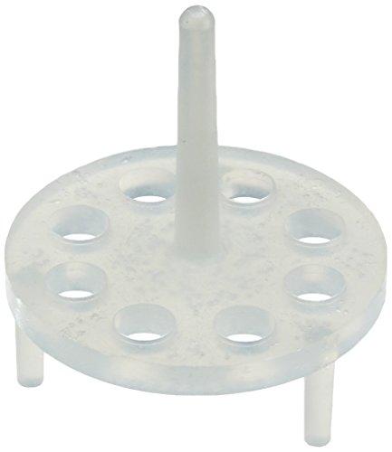 Oben In Der Mitte (neoLab 1-3080 Reaktionsgefäß-Einsatz für Wasserbad, 8 Löcher 66 mm Durchmesser)