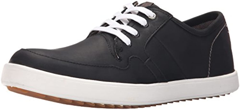 Hush Puppies Men's Hanston Roadside Leather Sneaker