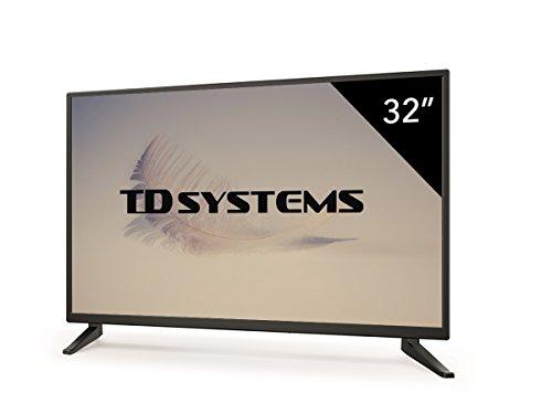 """31lVerp1NiL - TD Systems K32DLM7H - Televisor LED de 32"""" (HD, 3X HDMI, VGA, USB Reproductor y Grabador) Color Negro"""