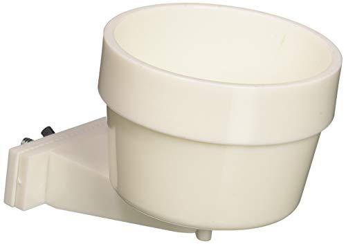 Lixit Quick Lock White Crock Carrier Versatile Crocks Dishwasher Safe 10 Oz White Crock