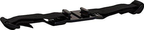Rollei Helmhalterung - Strap für Helme mit Belüftungsschlitzen - für Rollei Actioncam 200 / 300 / 400 und 500 Serie und GoPro Hero Modelle - Schwarz