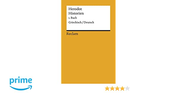 Historien 1 Buch Griechisch Deutsch Reclams Universal Bibliothek