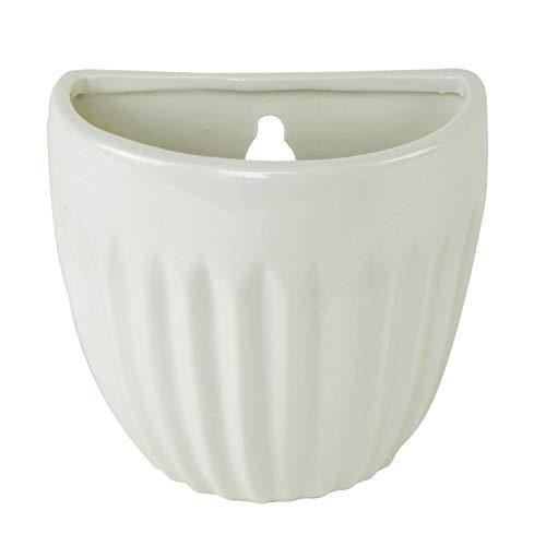 Luftbefeuchter Raumbefeuchter für den Heizkörper Round Pot zum Hängen aus Keramik mit Metallhaken