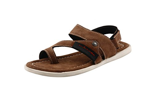 Bacca Bucci Men Brown Leather Sandals