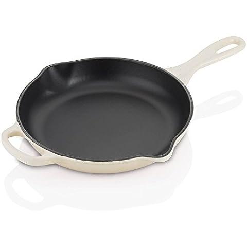 Le Creuset Signature sartén de hierro fundido/sartén 23cm, hierro fundido, marrón, 40.70x26.90x5.00 cm