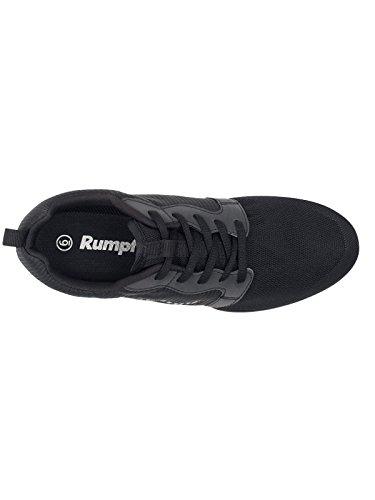 Rumpf Mojo Dancesneaker Tanzsneaker Tanzschuhe Hip Lindy Hop Gymnastik Trainings Hallen Aerobic Schuhe schwarz Schwarz