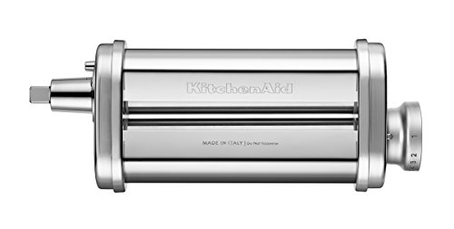 31lW I6sG2L - KitchenAid 5KSMPRA Pasta Sheet Roller and Cutter Set, 3-Piece (Optional Accessory for KitchenAid Stand Mixers)