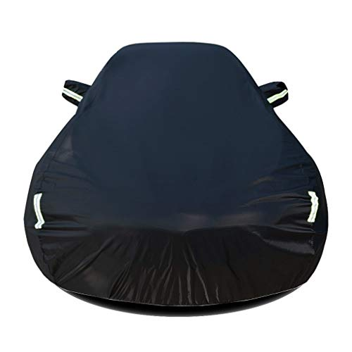 Autoabdeckung Kompatibel mit Nissan Qashqai Auto Abdeckplane Autoabdeckung Vollgarage Outdoor Autoschutzdecke Auto Autogarage Vollgarage mit Reflexstreifen Wasserdicht Autoplane Ganzgarage
