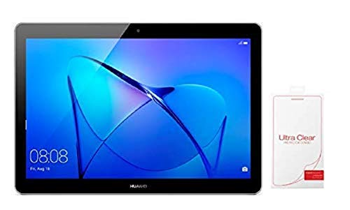 """HUAWEI MediaPad T3 10 Wi-Fi Tablette 9.6"""" Gris Bundle avec Film de Protection écran (16 Go, 2 Go de RAM, Android 7.0, Bluetooth)"""