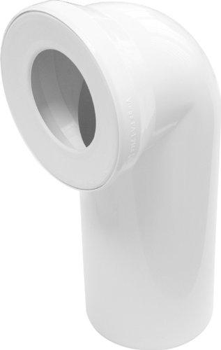Sanitop-Wingenroth 21642 5 Anschlussbogen für Stand WC | Weiß | 90 Grad | WC, Toilette -